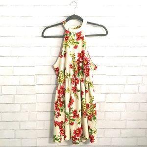 Audrey 3+1 floral dress